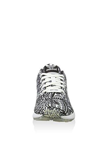 adidas ZX Flux, Chaussures Mixte Adulte Black/White