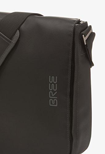 BREE Punch 49   Umhängetasche   LKW-Planen Messenger Bag   red black xw3Sxq7