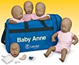 Laerdal Medical Corp 50010 Baby Anne Four Pack Manikin W/Pack Ea