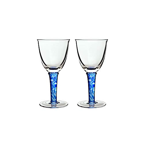 (Denby Imperial Blue Red Wine Glass (2 Pack), Royal)