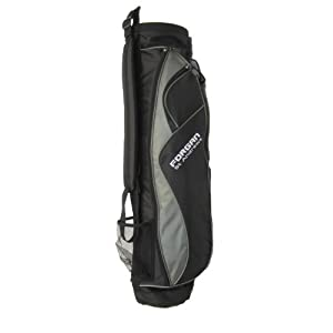 Forgan Grey & Black Ultra Light Carry Golf Bag