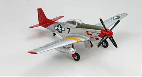 HOBBY MASTER 1/48 完成品 アメリカ P-51D Mustang Bunnie flown by Capt. Roscoe C. Brown Jr.100th FS 332nd FG Ramitelli Italy March 1945 ダイキャスト 戦闘機