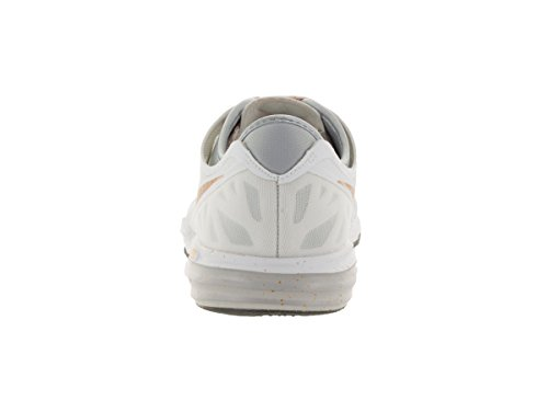 Weißes Wolf 3 W Fusion Sneakers Nike Metallic Pure Gold Tr Damen Dual Grey Platinum Print xTOOIw8d