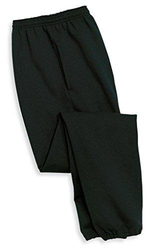 Joe's USA(tm) - Mens Ultimate Sweatpants with Pockets-Black-M