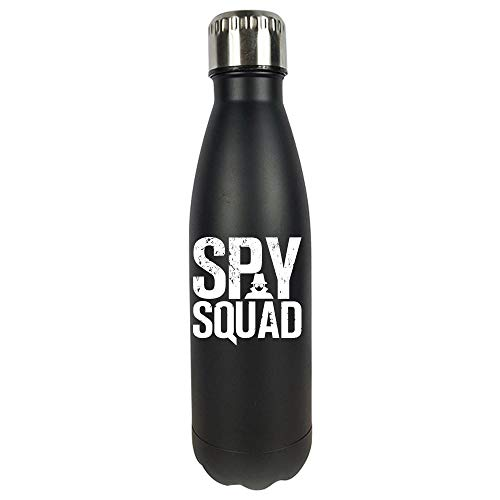 - Funny Spy - Squad Investigation Team - Covert Mission Secret Identity Humor - Vacuum Sealed Water Bottle