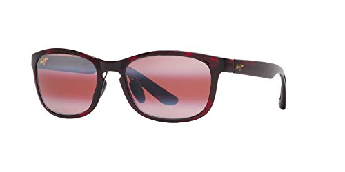 Maui Jim Front Street Sunglasses (431) Red/Pink Plastic - Polarized - - Maui Front Street