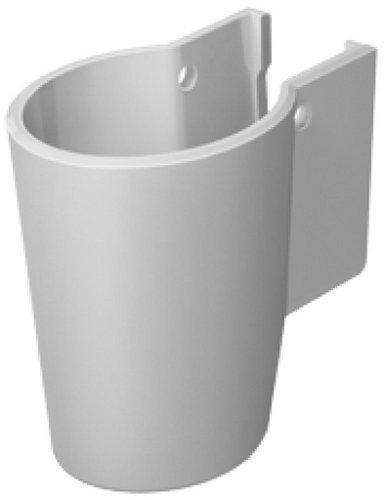 Duravit 0858340000 Half Pedestal Starck for Washbasins, White