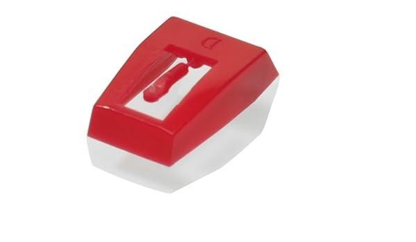 Ricatech - Aguja tocadiscos, color rojo: Amazon.es: Electrónica