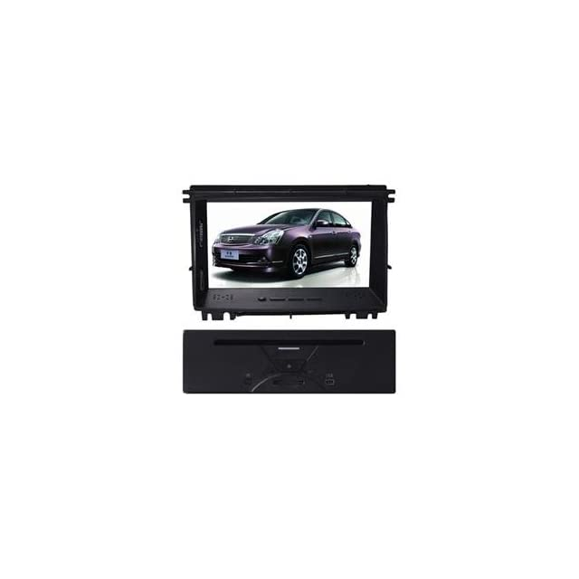 Eagle for 2008 2012 NISSAN Rogue Car GPS Navigation DVD Player Audio Video System with Radio (AM/FM),Bluetooth Hands Free,USB, AUX Input,(free Map),Plug & Play Installation