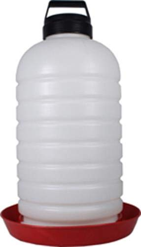 Farm Tuff P7G04 64035 Top Fill Poultry Fountains, Opaque/Red