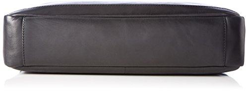 Tosca Blu Herren Sir Laptop Tasche, Schwarz (Black), 10 x 31 x 40 cm
