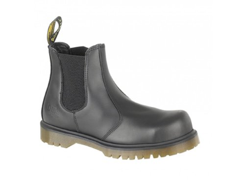 Dr. Martens Men's Industrial Chelsea BootSafety Toe Cap Black