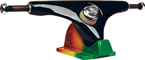 自己気候の山泣き叫ぶGullwing Charger 10.0 Black Rasta Truck Skate Trucks by Gullwing