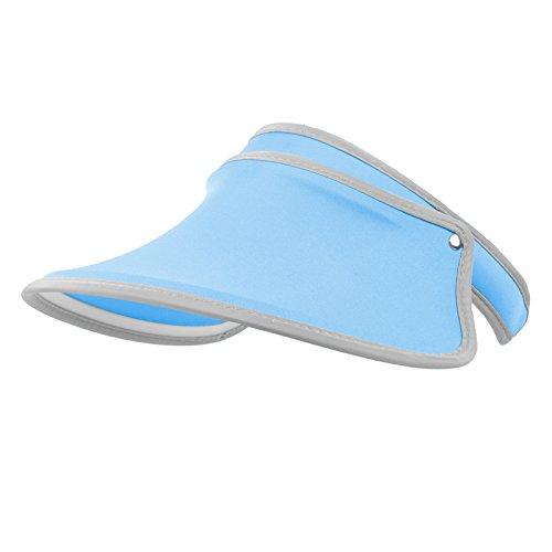Golf Tennis Visor Cap (Janey&Rubbins UV Protection Solar Visor Hat Golf Tennis Sun Cap (Blue))