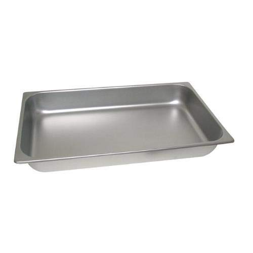 American Metalcraft (CDFP33) Mesa Rectangular Roll Top Chafer Food Pan Only