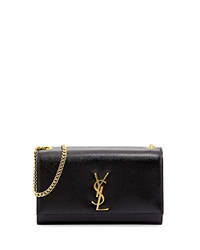 b0e2edbf2a1 Image Unavailable. Image not available for. Color  Saint Laurent Kate  Monogram YSL Medium Shoulder Bag ...