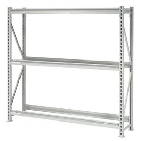 Heavy Duty Tire Rack 3 Tier Starter, Steel, Gray, 72''W x 18''D x 72''H by Global Industrial