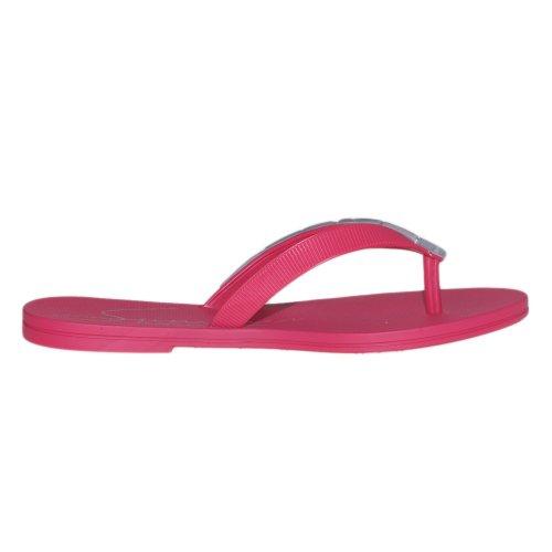 Ipanema Ocean Thong Fem - Sandalias de sintético para mujer Rojo rojo