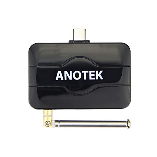 ATSC Digital External TV Tuner/Receiver for Smart Phone/pad/Smart HDTV Box and Computer or Notebook (Win ()