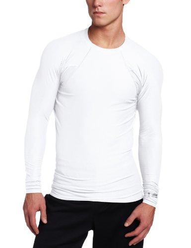 Blackhawk Men's Long Sleeve Crew Neck Engineered Fit Shirt (White, XX-Large)