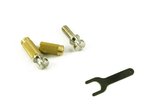 TONEPROS® LOCKING STUDS (TAILPIECE NOT INCLUDED) US THREAD NICKEL (Locking Bridge Studs)