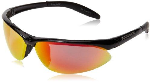 Arsenal Bullet Polarized Oval Sunglasses,Shiny Black,71 - Polarized Sunglasses Lightest Weight