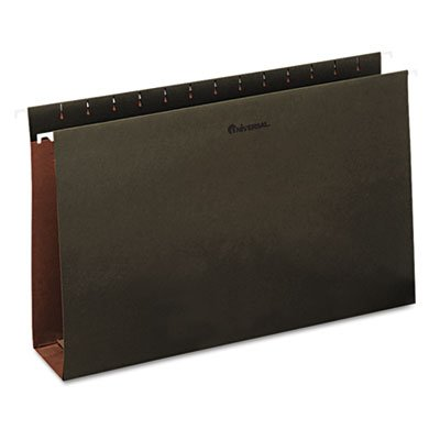 Three Inch Box Bottom Pressboard Hanging Folders, Legal, Standard Green, 25/Box (Box Inch Bottom Three)