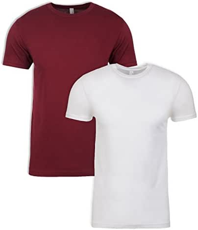 Next Level Mens Premium Fitted Short-Sleeve Crew T-Shirt