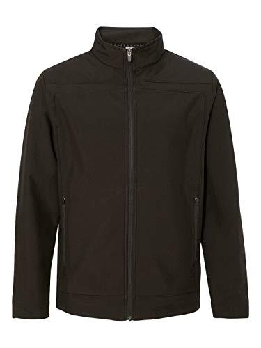 Colorado Clothing Men's Mock Antero Softshell Jacket, Large, Black