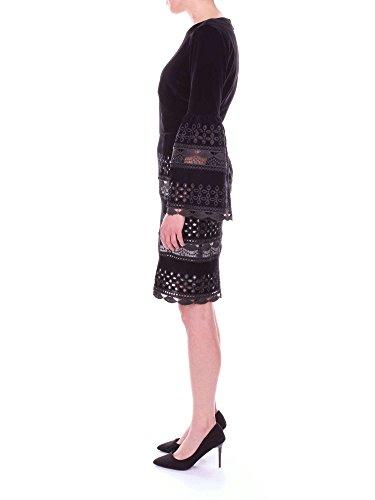 11001151 Kurzes Damen Kleid Schwarz BARTH NORA U5TqwaP