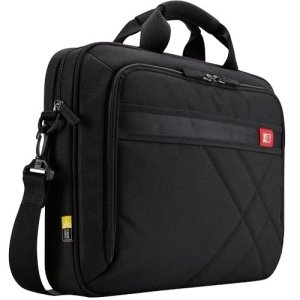 Case Logic DLC-117 Carrying Case for 17.3'' Notebook, Tablet PC - Black - Polyester - DLC-117BLACK by Generic