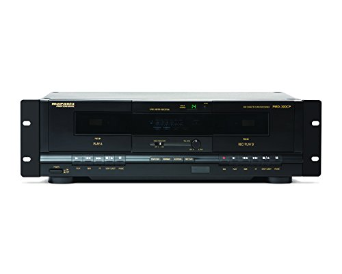 Marantz Professional PMD-300CP | Dual Cassette Player & Digital Recorder with USB Output (Audio Legacy Rack)