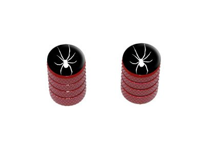 Red Motorcycle Tires - 5