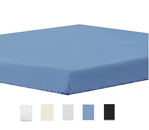Fitted sheet Twin Blue Comfortable product image