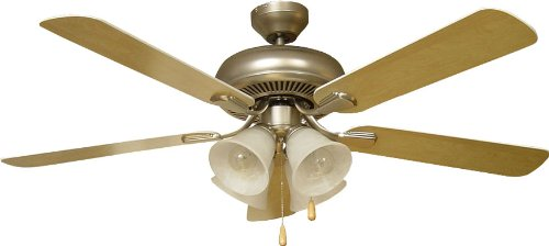 Craftmade PD52BP5C4 Ceiling Fan with Blades Included, 52