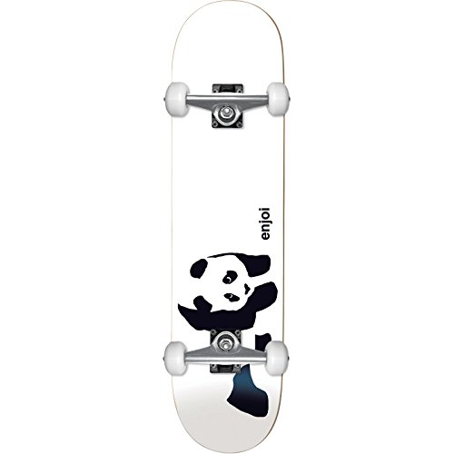Enjoi Whitey Panda Soft Top Micro Complete Skateboard -7.3 (Skateboard Micro Complete)