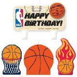 NBA Spalding Basketball Candles - 4ct