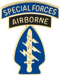 Forces Lapel Pin Special - Airborne Special Forces Lapel Pin or Hat Pin