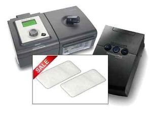 Lot of 48 Disposable OEM UltraFine UF CPAP Filters for Respironics PR SYSTEM ONE M SERIES and SLEEPEASY Machines Ultra fine NO TAB