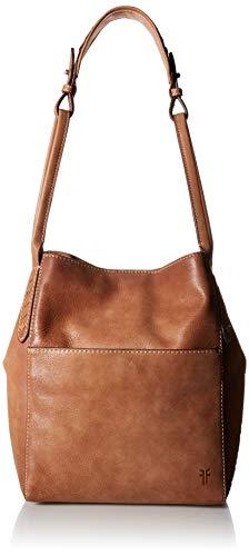 FRYE Reed Zip Leather Hobo, tan -  DB0244-TAN