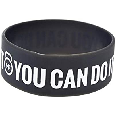 Relddd Silicone Bracelets With Sayings Crossfit You Can Dream With Can It Rubber Wristbands For Adults And Kids Encouragement Set Pieces Estimated Price £26.99 -