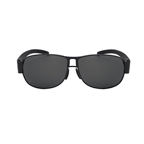 Deporte HD sol Personalidad 1 Polarizados Gafas Color Gafas YQQ Conducción Gafas Gafas UV Reflejante de Vidrios 1 Cuadradas Hombre De De Anti Anti qxxpzgE7w