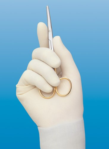 Cardinal Health 2d7253 Triflex Natural Rubber Latex Powder Free Sterile Surgical Gloves, Cream, Size 7 (Case of 200) by Cardinal Health