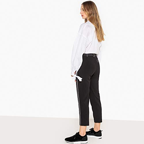 Slim La A Collections Pantaloni Redoute Twill Nero Donna Pinocchietto In wrRARYqx