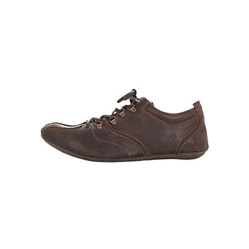 FLY LONDON para hombre zapatos PUSH BOSTON diseño de ante marrón