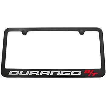 Amazon Com Dodge Durango R T License Plate Frame Satin