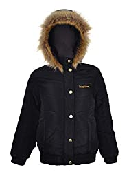 Winter Jacket With Crystal Logo