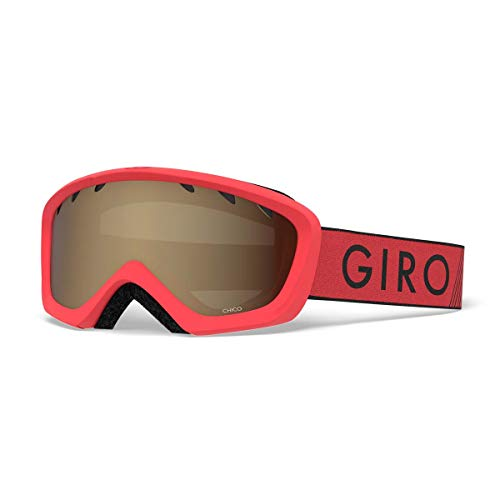 Giro Chico Kids Snow Goggles Red/Black Zoom - Amber Rose ()