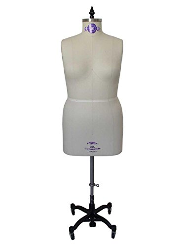 Professional Dress Form Plus Size Large Woman Mannequin Tailor Dummy (20L) -  PGM Pro Inc, 601L