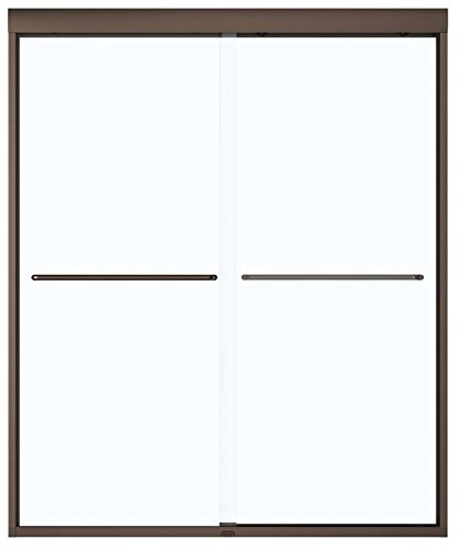 MAAX 135665-900-172 Dark Bronze 2-Panel Shower Door